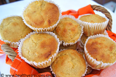 whole wheat apricot muffins