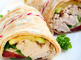 chicken wrap recipes