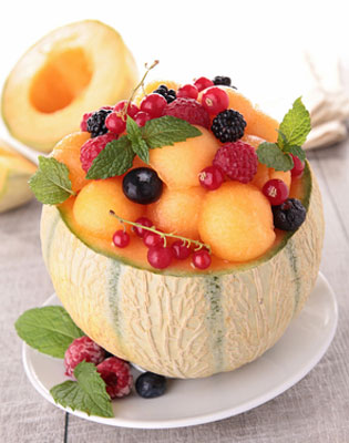 healthy fruit dessert
