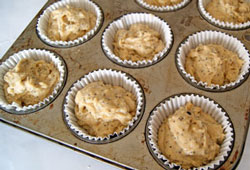 lemon poppyseed muffins ready to bake