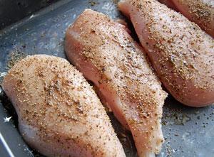 frying pepper chicken