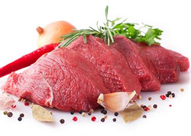 lean raw beef