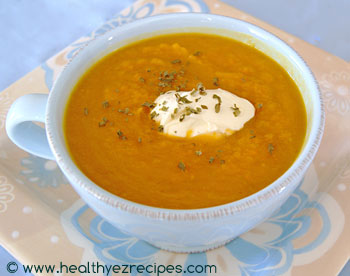 roasted butternut pumpkin soup