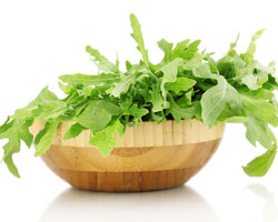 bowl of rocket