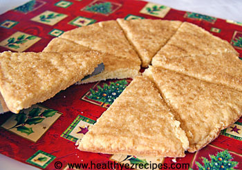 low fat shortbread