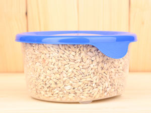 storing rice in a canister