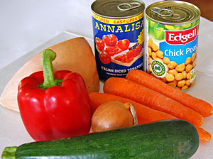 ingredients required for vegetable casserole