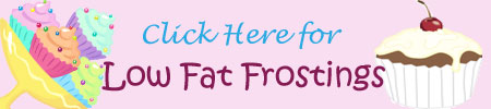 low fat frostings