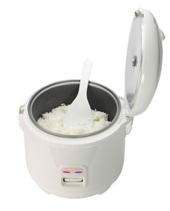 cooking in a rice cooker