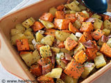potato and kumara salad